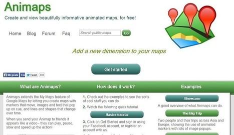 Animaps: Una buena herramienta para crear mapas animados - Nerdilandia | Educacion, ecologia y TIC | Scoop.it
