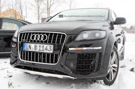 Spyshots : le prochain Audi Q7 sera plus léger   Auto , mécaniques et sport automobiles   Scoop.it