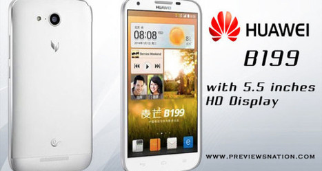 Huawei B199 Android Phone, Full Specifications, Key Features, Price | Latest Smartphones | Scoop.it