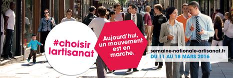 Semaine nationale de l'artisanat | Sélection pour l'enseignement INDUSTRIEL dans les voies générale, technologique et professionnelle | Scoop.it