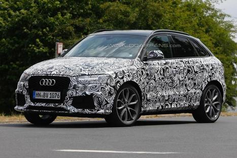 Spy Photo: 2015 Audi RS Q3 facelift | Best Car In The World | Scoop.it