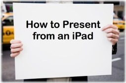 Present from an iPad to a TV or a projector - bContext's Blog | Regis University | Scoop.it