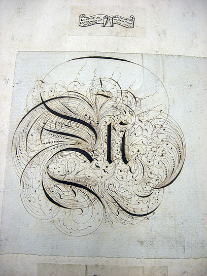 Flickriver: Most interesting photos from Early Modern & 19th Century Style Calligraphy and Lettering pool | Calligraphy | Scoop.it
