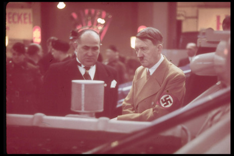 These Rare Color Photos Of Adolf Hitler Are Unbelievable | World History | Scoop.it