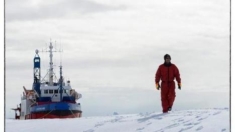 """Rencontre. Il commande """"L'Astrolabe"""" dans les 60e hurlants #antarctique #TAAF #banquise #DDU   Arctique et Antarctique   Scoop.it"""