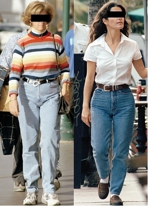 Jeans To Hide a Big Tummy | Fashion Style for Women After 40 | Scoop.it