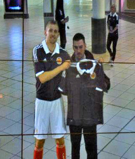 Augmented Reality Scotland national football shirt | Psychology of Consumer Behaviour | Scoop.it