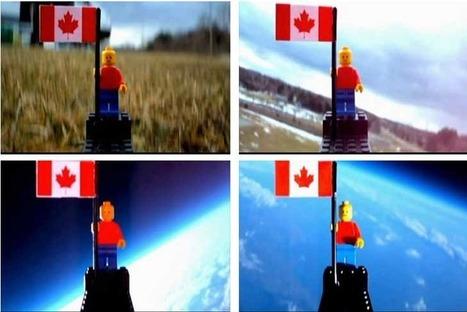 Teens send Lego man into near space | Visual & digital texts | Scoop.it
