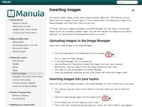 Create and Publish Professional-Looking Manuals (Web + PDF) Easily with Manula | Web Publishing Tools | Scoop.it