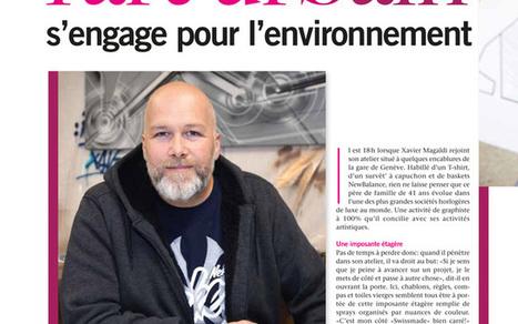 "Xavier Magaldi ""Esprit Upcycling"" @ Salon Habitat-Jardin / Lausanne / Switzerland, 12 - 20 mars 2016 - Speerstra | Paris Tonkar magazine | Scoop.it"