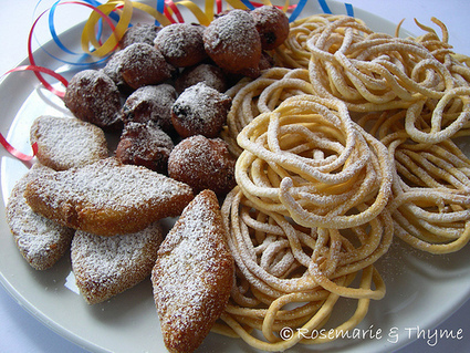 Tris di Carnevale: losanghe di semolino, castagnole di castagne e tagliolini fritti | Le Marche un'altra Italia | Scoop.it