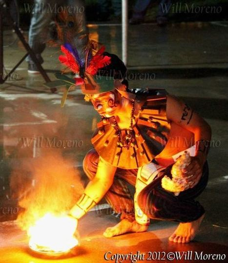 Mayan Dancer perforning Maya Sacrificial Dance in Belize | Belize in Photos and Videos | Scoop.it