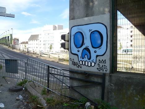 Skull by Tarek sur le parcours Aucwin | The art of Tarek | Scoop.it