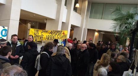 NDDL. Des opposants occupent le Conseil départemental à Nantes   Comment va ma Planète ?   Scoop.it