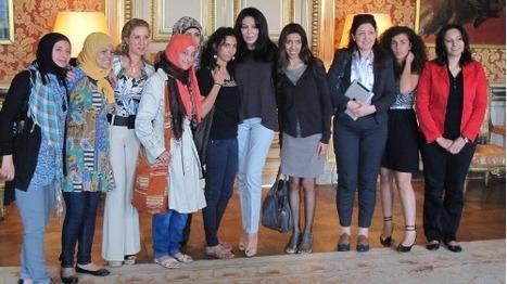 Douze blogueuses - journalistes du monde arabe rencontrent la ministre française Yamina Benguigui | Égypt-actus | Scoop.it