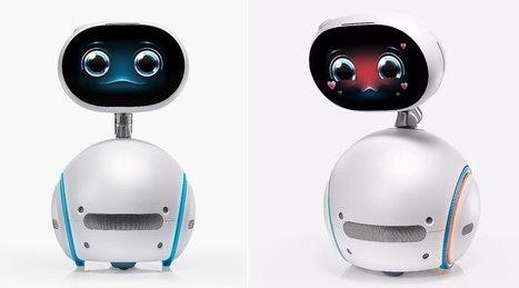 Asus Zenbo, un assistant à domicile robotisé | Post-Sapiens, les êtres technologiques | Scoop.it