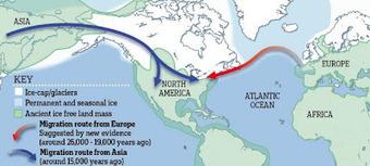 Les chasseurs de l'Age de Pierre auraient découvert l'Amerique ! | Aux origines | Scoop.it