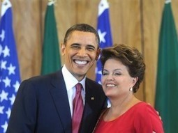 Obama and Rousseff meet to discuss ties   The Heralding   Current Politics   Scoop.it