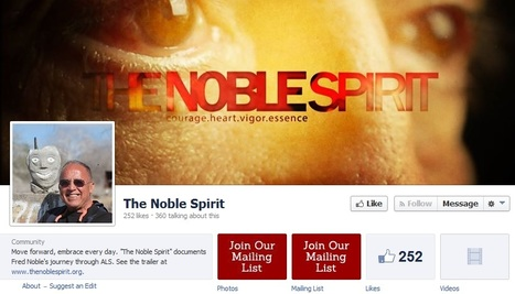 The Noble Spirit: Say Goodbye to Fred Noble at April 9 movie premiere | ALS,MND A story that needs telling | Scoop.it