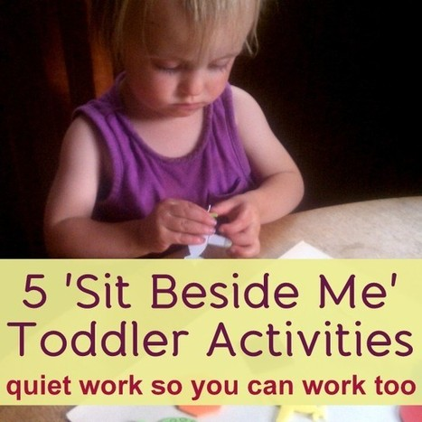 5 Quiet Toddler Activities – Ideas for Independent Play   Curricula à conversa   Scoop.it