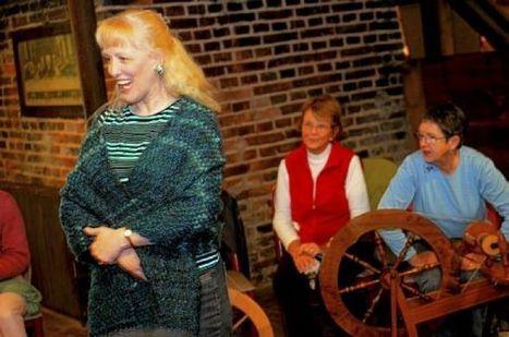Spinners enjoy peaceful companionship while turning fleece into yarn - Pittsburgh Post Gazette | Shetland sheep | Scoop.it