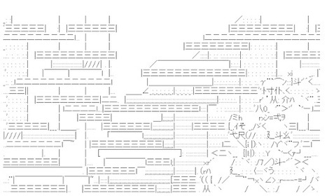 Madoka in Shift-JIS ASCII. | ASCII Art | Scoop.it