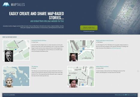 MapTales. Ecrire une histoire sur une carte. | Outils pour le web, mediation, formation... | Scoop.it