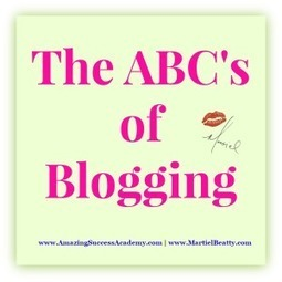 The ABC's of Blogging | Mervik Haums | What the Font! | Scoop.it