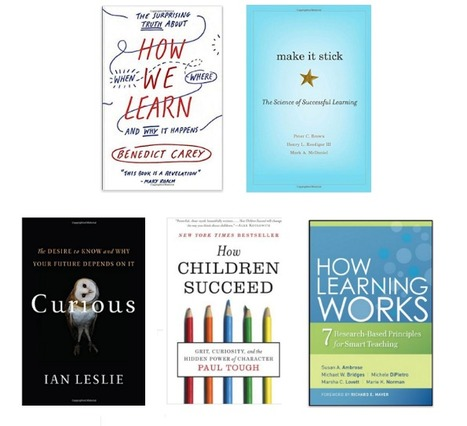 5 Must Read Books On The Science of Learning | Technology in Art And Education | Scoop.it