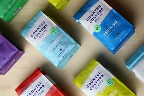 Counter Culture Giving Colorful Makeover to Bags, Roast Names   Coffee News   Scoop.it