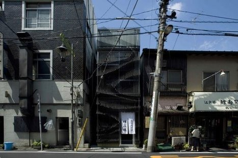 [Tokyo, Japan] Yufutoku Restaurant | The Architecture of the City | Scoop.it