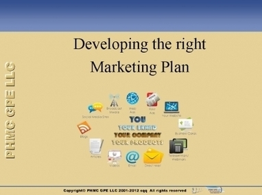 Developing the right Marketing Plan | Mobile - Mobile Marketing | Scoop.it