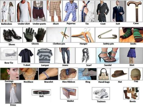 Learning clothes for men women babies English lesson | Adam's stuff | Scoop.it