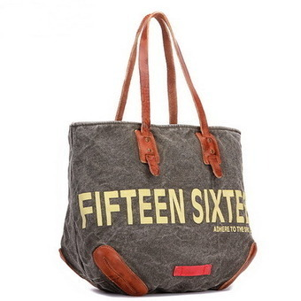 Large canvas shoulder tote | Weekender shopping bags unisex | personalized canvas messenger bags and backpack | Scoop.it