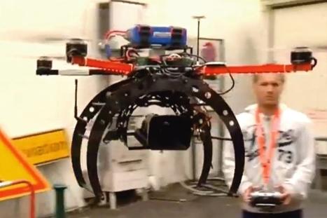 Les drones au service des entreprises, enfin ! - 01net | Drones | Scoop.it