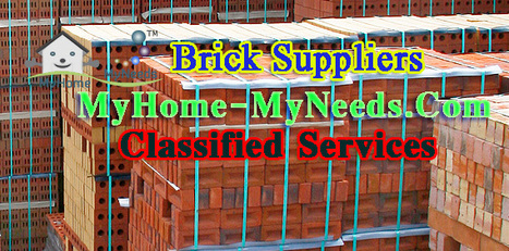 Brick Suppliers in Chennai | MyHome-MyNeeds.com - Home Needs in India-Classified Ads free | Scoop.it