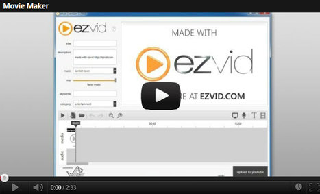 Ezvid | Free Video Movie Maker and Slideshow Creator For YouTube | Multi Media | Scoop.it