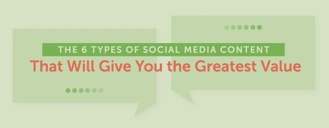 The 6 Types of Social Media Content That Will Give You the Greatest Value | B2B Marketing and PR | Scoop.it