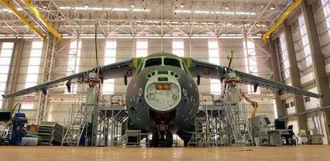 First KC-390 gets wings on assembly line | Aero | Scoop.it