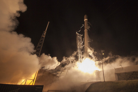 Falcon 9 rocket wins landmark U.S. Air Force launch contract | Spaceflight Now | iScience Teacher | Scoop.it