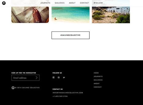 15 Tips for Creating a Great Website Footer | Design Shack | webdesign | Scoop.it