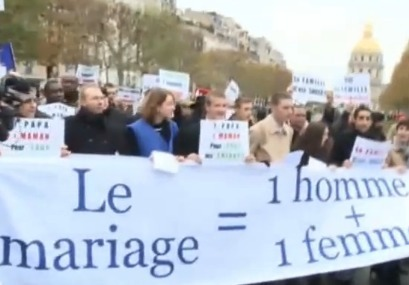 Catholic March Against Gay Marriage In France Turns Ugly (Well ... | Gay Marriage Permitted | Scoop.it