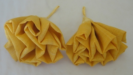 Golden Cocoon Silk Naturally Shower Flowers, Hand-woven Ethically | Jewelry Making & Beginning Stain Glass | Scoop.it