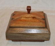 Square Wood Wooden Box Trinket Jewelry Rings Office Lidded Men Women 5 x 5 Lined | Wooden box | Scoop.it