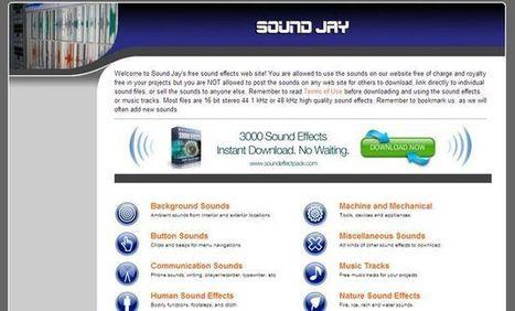 SoundJay, una práctica colección de efectos de sonido para emplear en tus proyectos | Tic, Tac... y un poquito más | Scoop.it