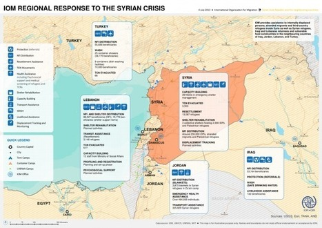 IOM Regional Response to the Syrian Crisis (as of 4 July 2013 ... | My Migration Daily | Scoop.it