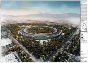 "Apple's Spaceship Campus Travels ... Into the Future! | Gadget Lab | Wired.com | L'impresa ""mobile"" 
