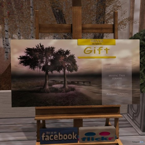 Mystic Tree with Grass Group Gift by The Little Branch | Teleport Hub - Second Life Freebies | Second Life Freebies | Scoop.it
