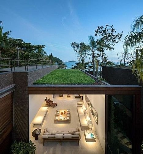 Architectural Beauty Blends With The Nature in Brazil   Design Tools and Starting Points   Scoop.it