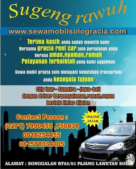 Otto Rent Car Solo | Sewa Mobil Solo | Scoop.it